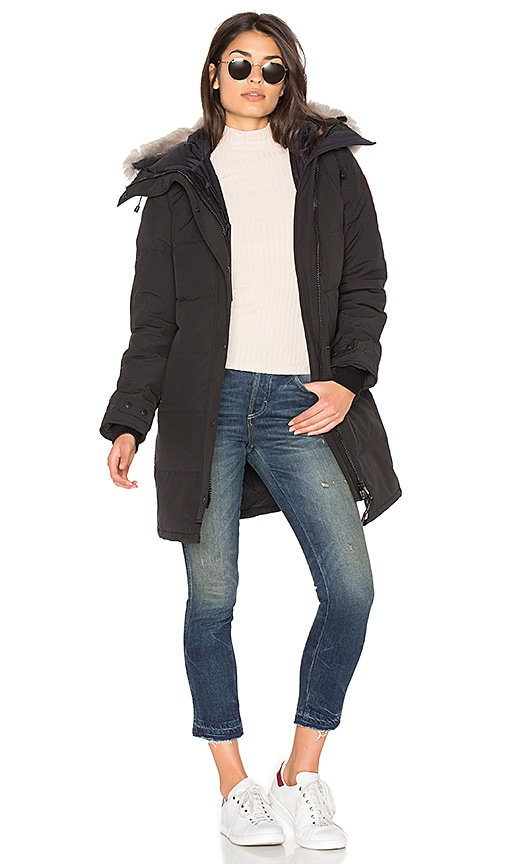 Shelburne Parka with Coyote Fur Trim