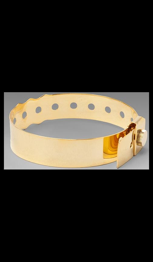 'Coming or Going' 14K Gold Plated Concert Bracelet