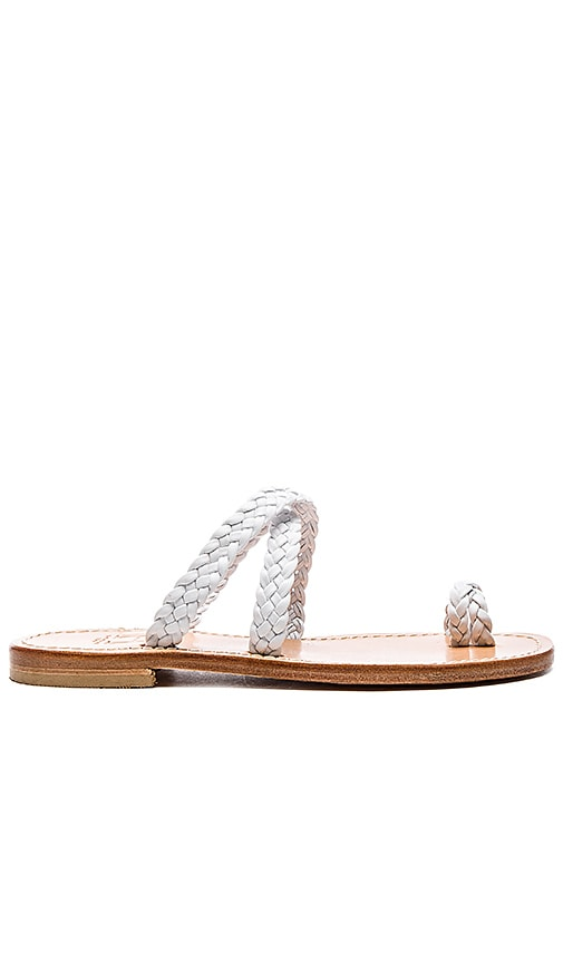 Braided Cross Sandal