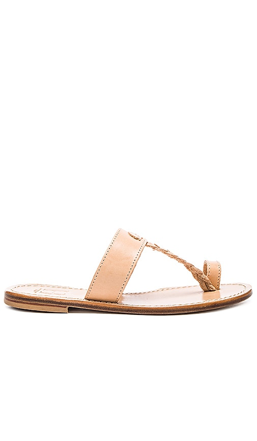 Capri Positano Positano Sandal in Raw Tan Light