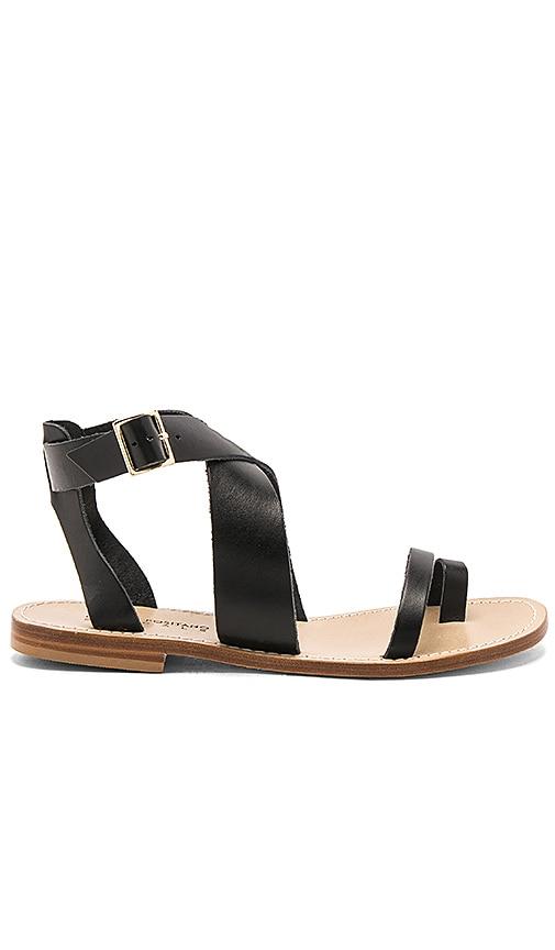 Capri Positano Meta Sandal in Black