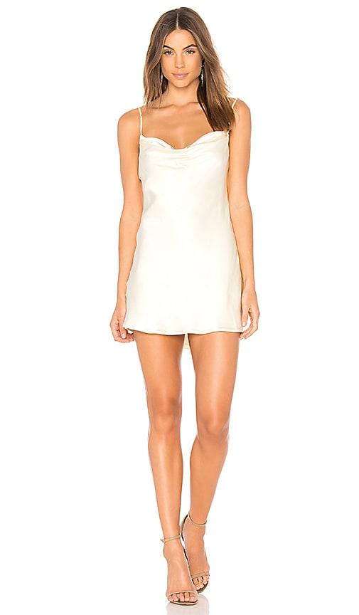 Capulet Jade Slip Dress in Ivory