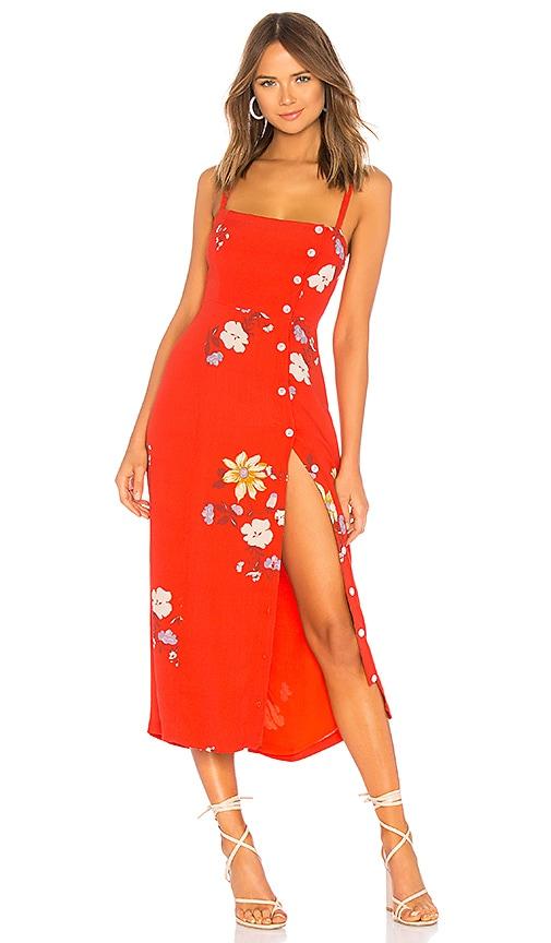 caccd4cef177 Capulet Janette Midi Dress in Red Floral   REVOLVE