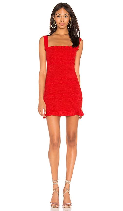 Capulet VIVIANE RED DRESS
