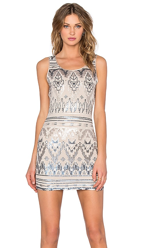 Capulet Bodycon Dress in Empire Sequin