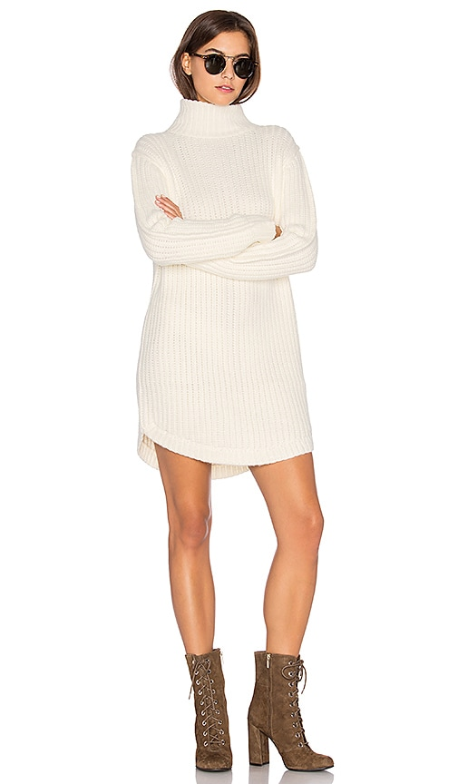 Capulet Neve Sweater Dress in Cream