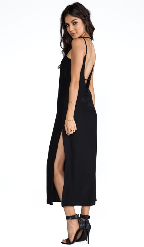 107f2bb7e Capulet Plunging Back Maxi Dress in Black