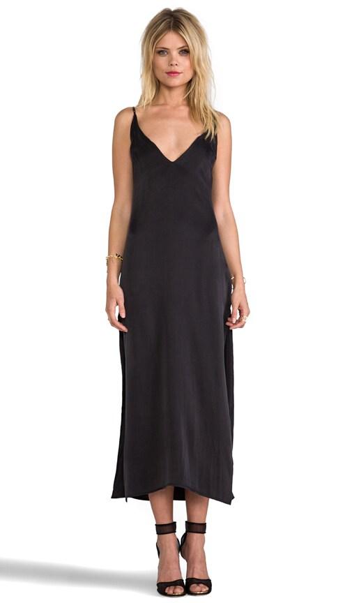 Deep V Front Dress
