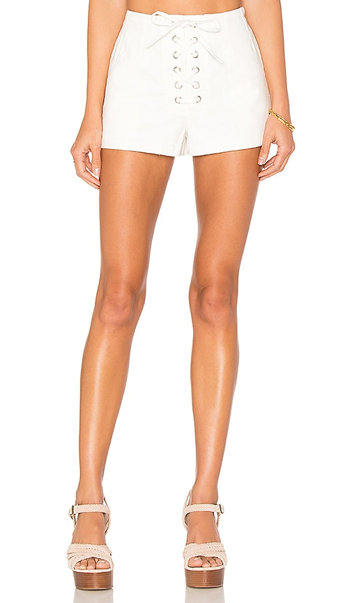 Capulet Ravenna Lace Front Short in White