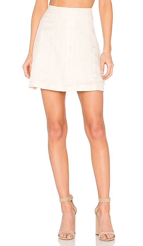 Capulet Giorgia Mini Skirt in Ivory