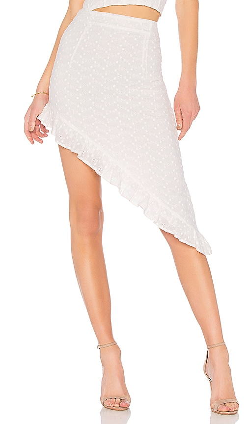 Capulet x REVOLVE Corine Skirt in Cream