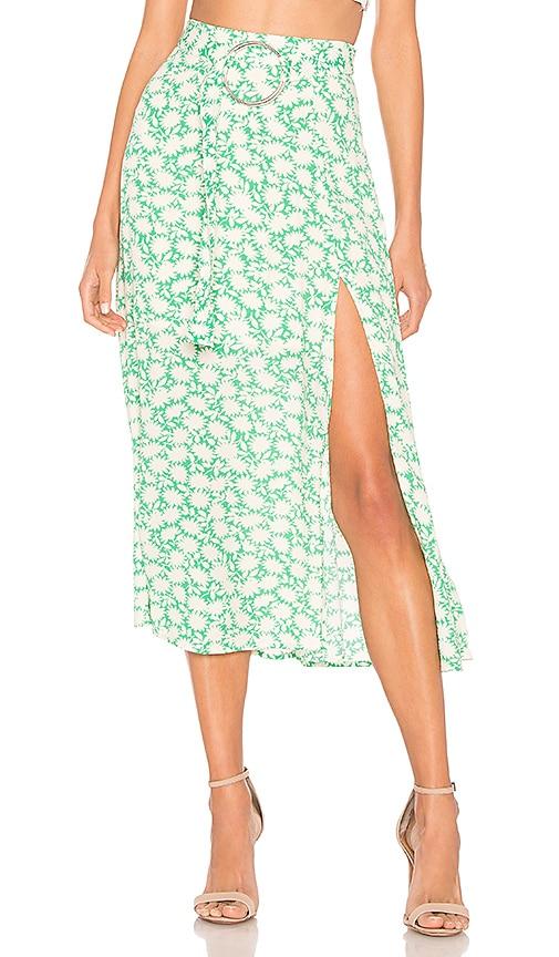 Savannah Belted Midi Skirt