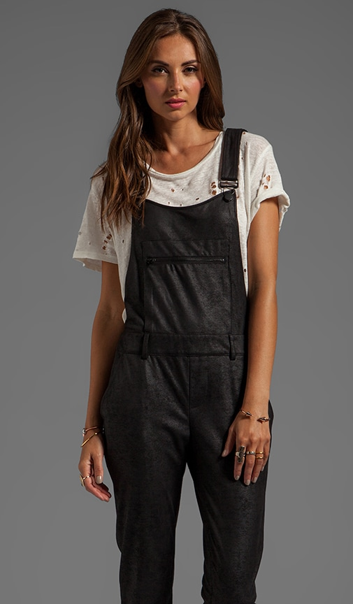 Suede/Leather Overall