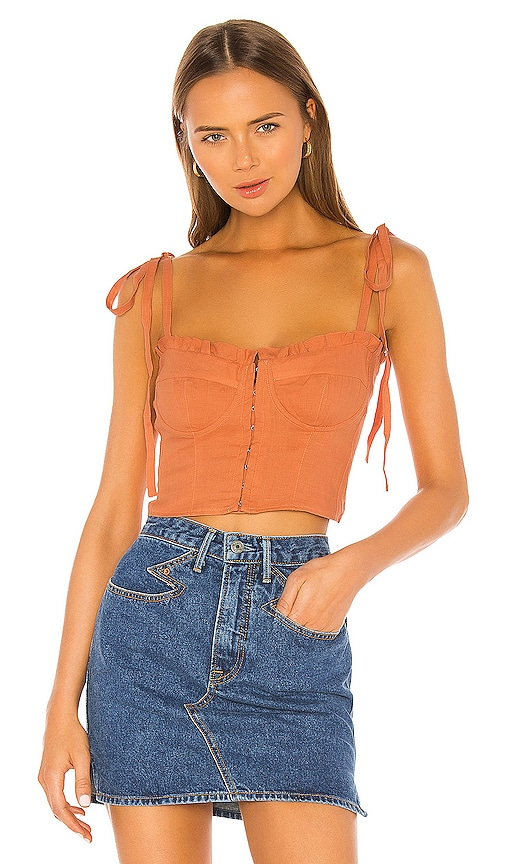 Rian Bustier Top by Capulet