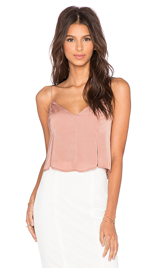 Flared Cropped Cami