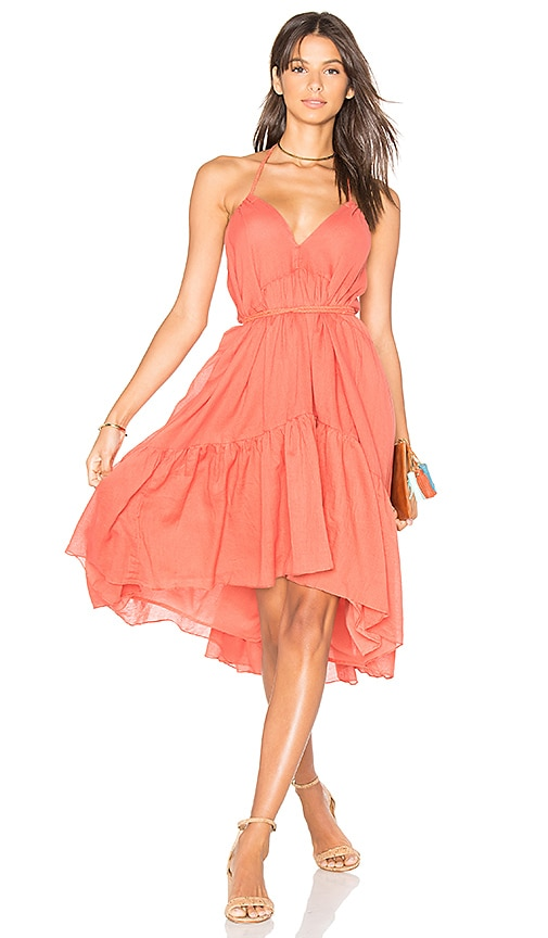 Carolina K Three Way Dress in Orange