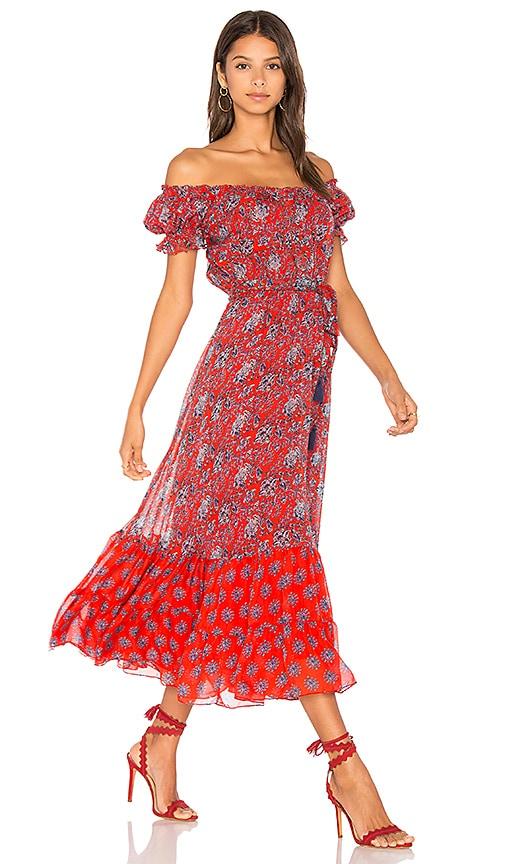Carolina K Alexa Dress in Red