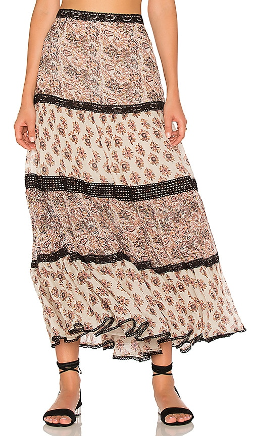 Carolina K Lulu Skirt in Beige