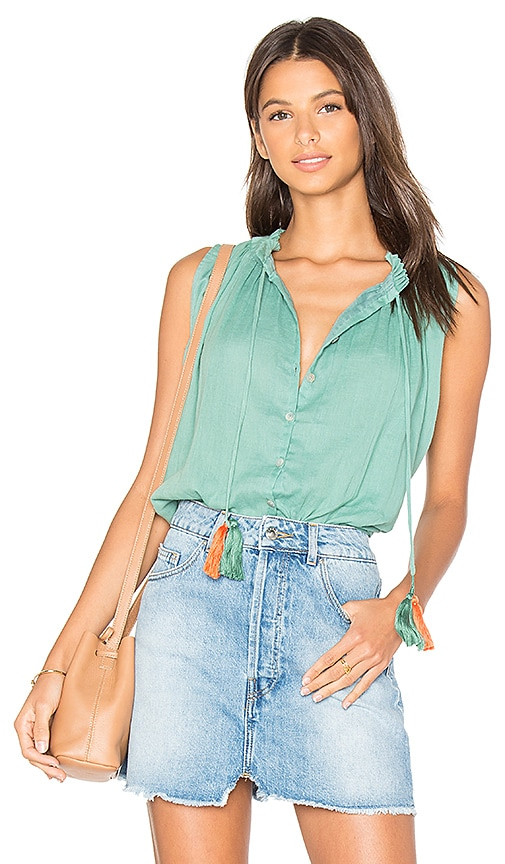 Carolina K Miranda Blouse in Green