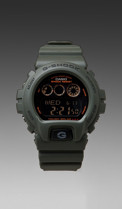 6900 Solar Military Series Watch