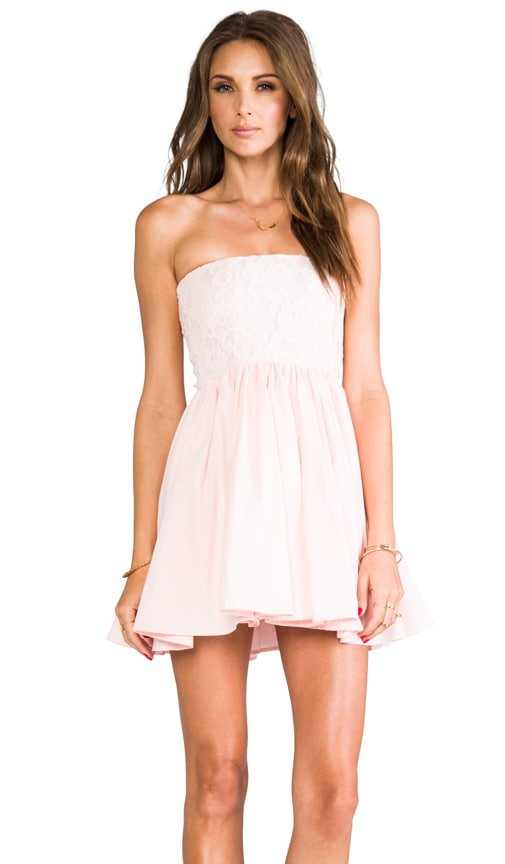 Lux Strapless Dress