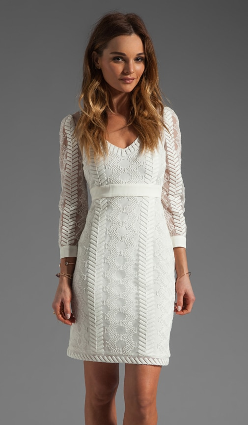 Cord Embroidery Dress