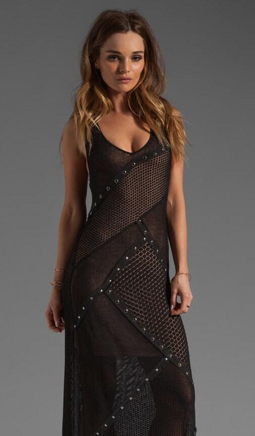Pointelle Maxi Dress
