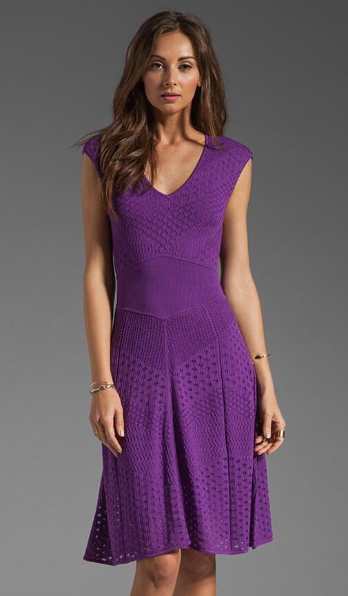 Multi A Line Pointelle Dress