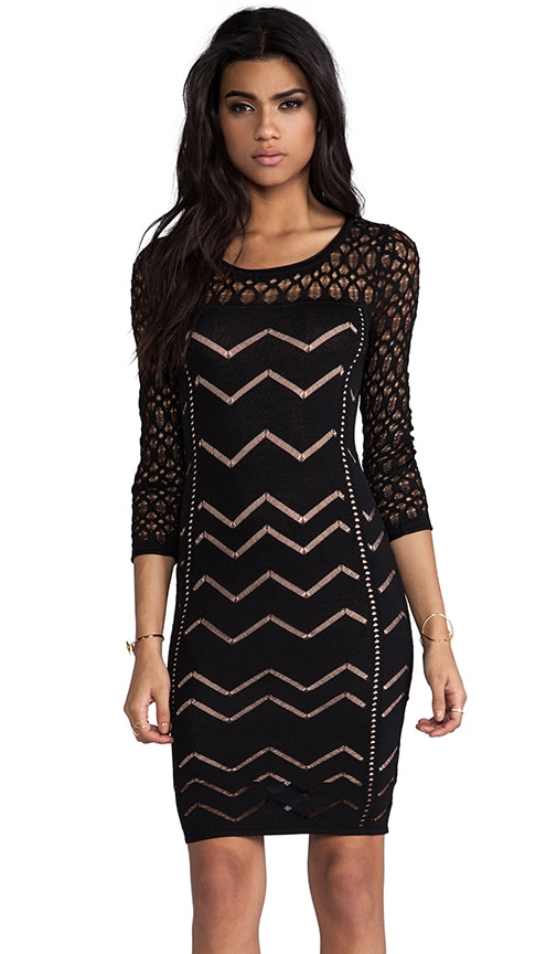 Agnes Long Sleeve Pointelle Dress