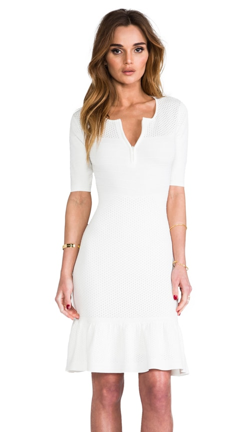 Claire Zip Front Dress