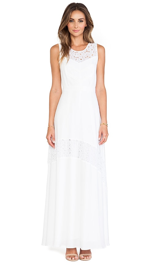 Gianna Lace Detail Maxi Dress