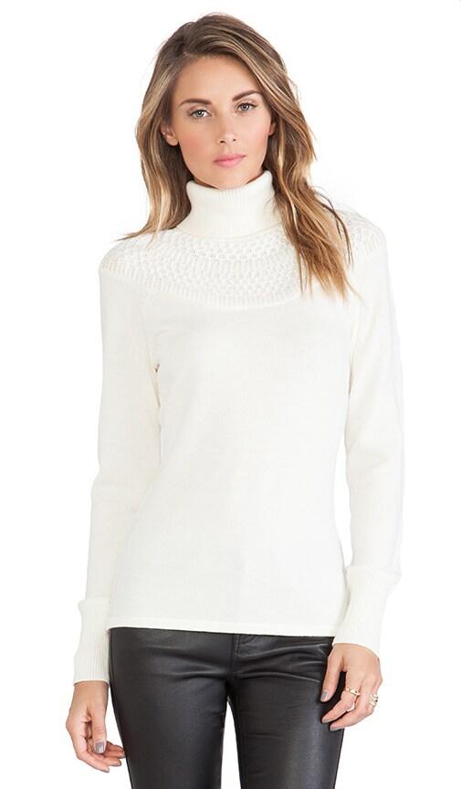Catherine Malandrino Jacey Turtleneck Sweater in Ivory