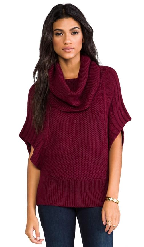 Arlette Short Sleeve Turtleneck Sweater