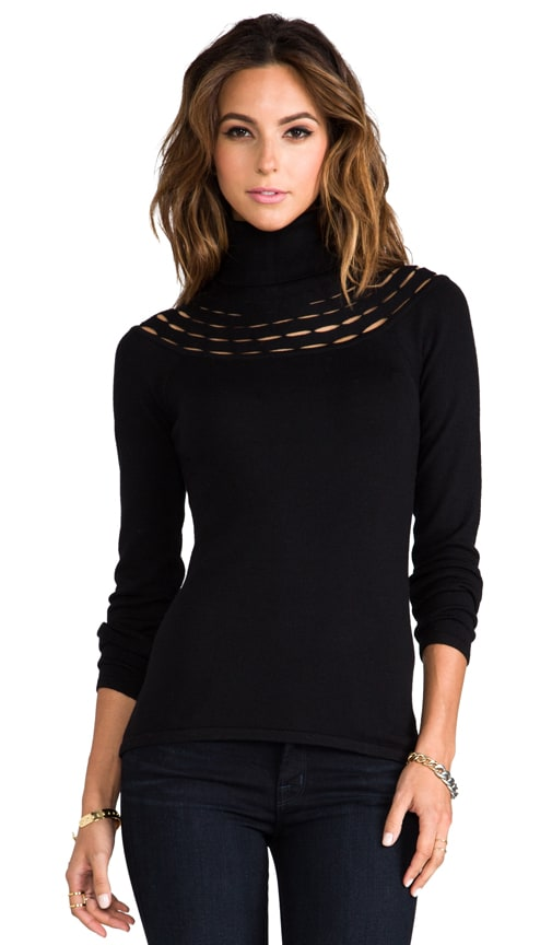 Armelle Wool Turtleneck Sweater