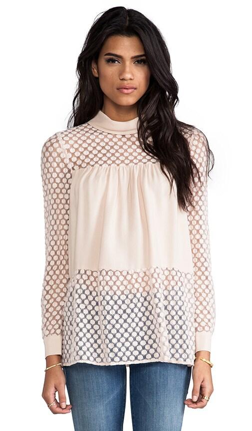 Amadi Long Sleeve Silk Blouse