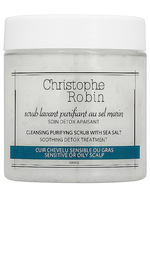 Travel Cleansing Purifying Shampoo Scrub with Sea Salt