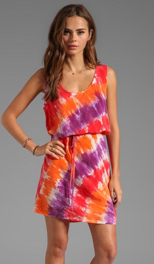 Bemberg Circle Tie Dye Tank Dress