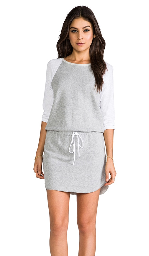 3/4 Sleeve Raglan Dress