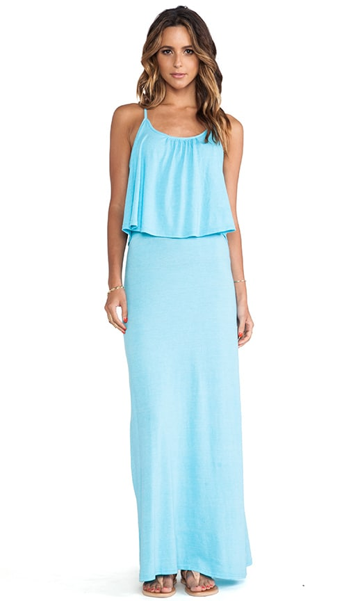 Ruffle Tank Maxi Dress