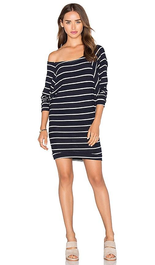 236d7068c29c C&C California Carrie Dress in Navy & White Stripe | REVOLVE