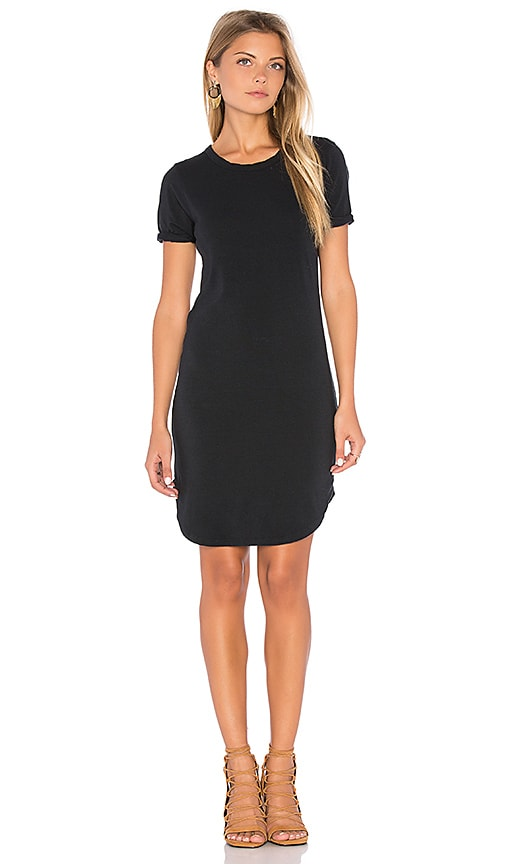 C&C California Adelise Shirt Dress in Black