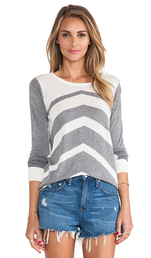 Chevron Stripe Sweater