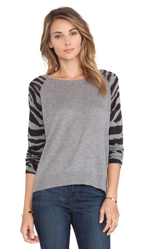 Animal Sleeve Sweater