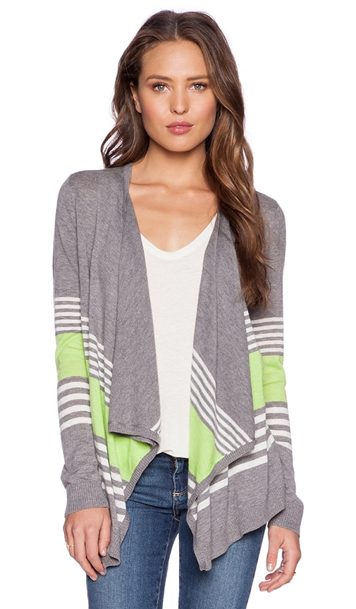 Mixed Stripe Cardigan