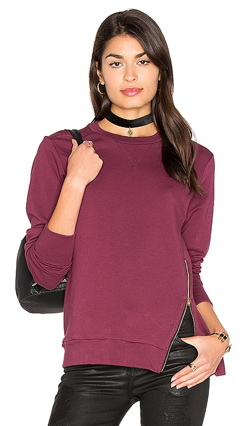 C&C California Courtney Pullover in Wine