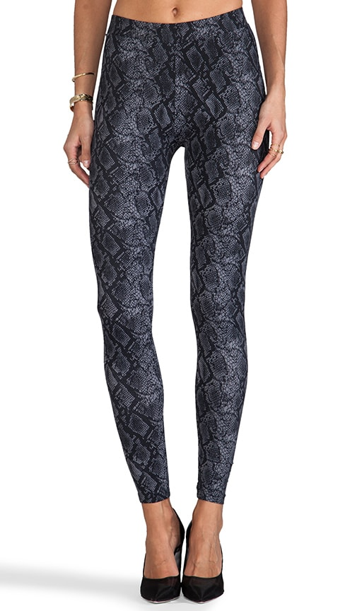 x Stephanie Printed Snake Legging