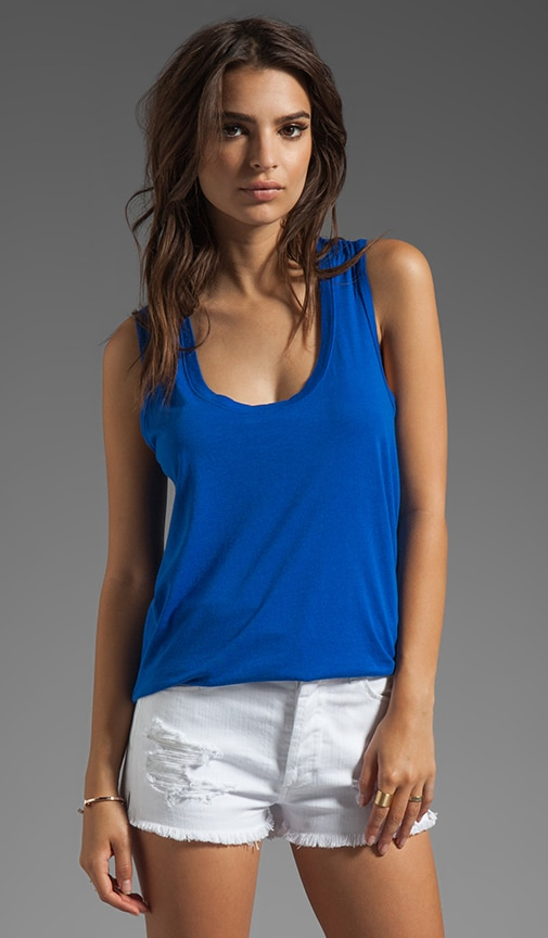Light Weight Classic Jersey Shirt Tail Tank