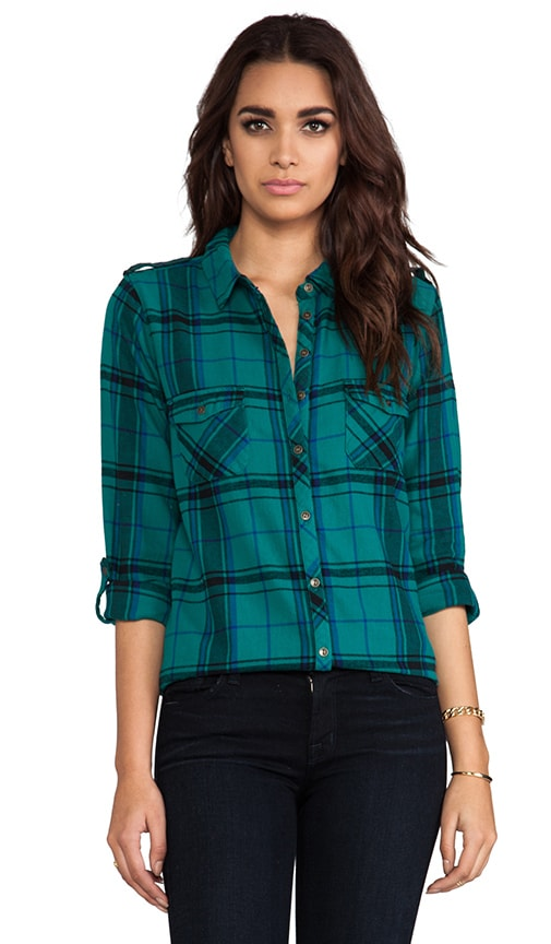 Heritage Flannel Button Down