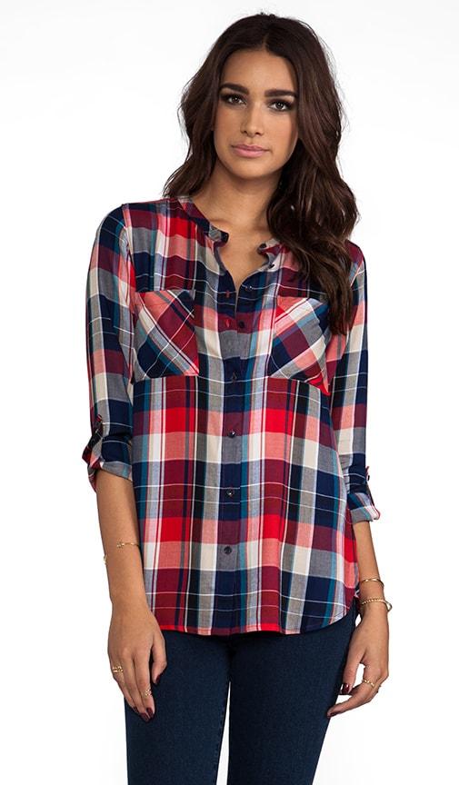 Two Pocket Plaid Shirt