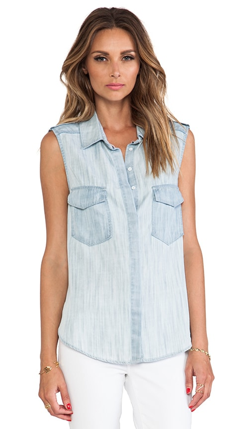 Surf Wash Button Down Top